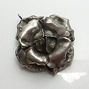 Art Nouveau Wachenheimer Pin Flower Pendant