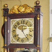 SALE C & L. C. Ives  Empire Eight Day Weight Clock