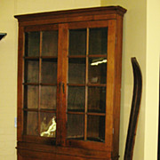 REDUCED Pennsylvania Cherry Corner Cupboard
