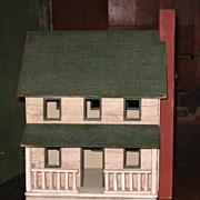 SALE Folk Art Bird House
