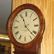 "REDUCED E. Howard & Co Regulator 70-16"" Dial Clock"