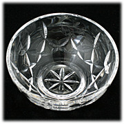 SALE Waterford Crystal Bowl Love and Kisses Hand Cut Irish Crystal Hearts