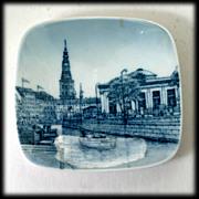 Bing Grondahl Denmark Thorvaldsens Museum Porcelain Plaque Plate