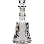St Louis Camargue French Crystal Cordial Decanter Vintage Art Glass