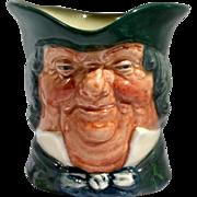 Royal Doulton Toby Jug Parson Brown Vintage Porcelain Character Mug