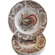 Johnson Bros. Turkey Plates