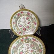 Tree of Life Plates Heathcote China