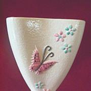 Vintage Hull Vase ** Butterfly ** 1956