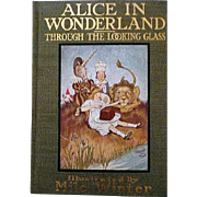 Rare Alice In Wonderland Through the Looking Glass and What Alice Found There