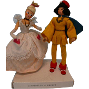 SOLD BAPS Cinderella and Prince Charming