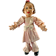 "Vintage Fanny Brice, Baby Snooks 12"" Doll"