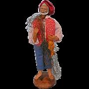 Vintage French Fisherman Santon