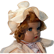 SALE Beautiful Horsman Baby Doll with Flirty Eyes
