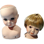 Bisque Doll Heads