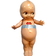 "Original 9"" Labeled Composition Kewpie"