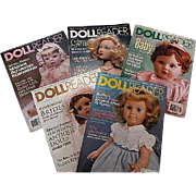 REDUCED Doll Reader Magazines 1998 & 1999