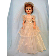 Lovely All Original Bride Doll with Box