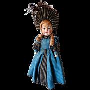 """SALE German Shoenau Hoffmeister 18"""" Bisque Doll"""