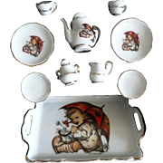 German Mini Hummel Tea Set