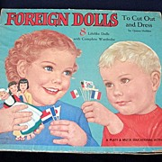 Foreign Dolls by Queen Holden 1957