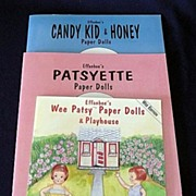 SALE Patsy Paper Doll Books