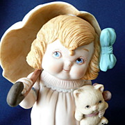 Dolly Dingle or Campbell Kid Figure