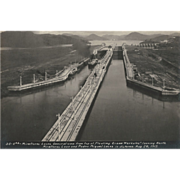 Original Photographs of Panama Canal 1914, 1915