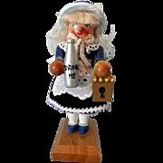 Signed Steinbach Miniature Nutcracker Alice in Wonderland