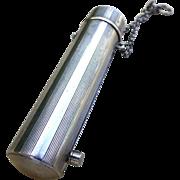 Turn of the Century Sterling Silver  Needle Case / Lipstick holder /Vesta