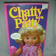 Vintage Mattel Chatty Patty Doll NRFB 1983 Talking