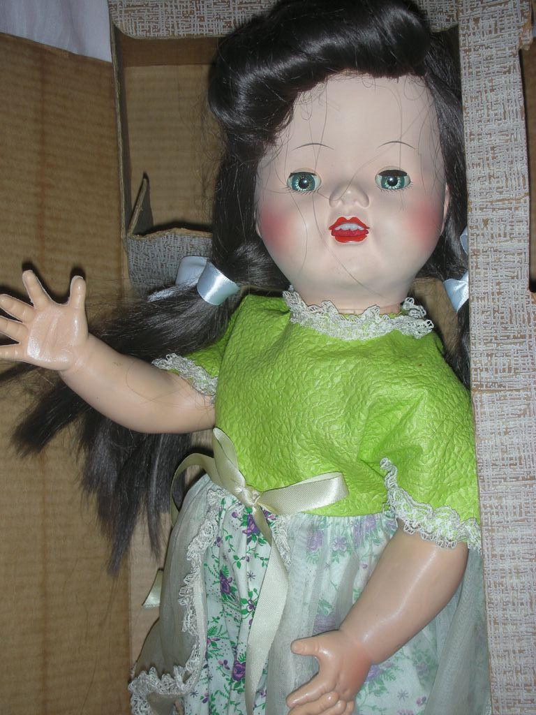 1950 S Imperial Crown Toy Corp Tina Toddler Walking Doll