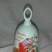 SOLD Vintage 1980s Strawberry Shortcake Doll Bell