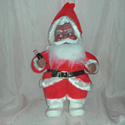 SOLD Rare Vintage Rushton Toy Corp African American Santa Claus