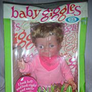 Vintage Ideal Baby Giggles Doll NRFB
