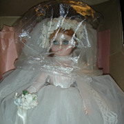 SALE Vintage Madame Alexander Elise Bride Doll Mint in Box