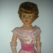 SALE Vintage 1950's Sweet Rosemary Doll By Deluxe Reading Grocery Store