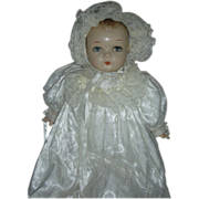 SALE Vintage Princess Beatrix Composition Doll Compo Baby by Horsman