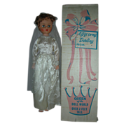 Vintage 24 inch Queen of the Doll World Bride with Box and Shipper Fashion High ...
