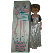Vintage Mother of the Bride Queen of the Doll World 1950s 24 inch High Heel ...