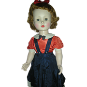 SALE Vintage Madame Alexander Mary Ellen Walker Doll Hard Plastic Playpal size 30 inch