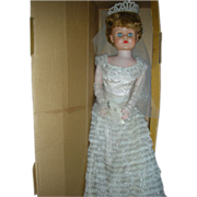 Betty the Beautiful Bride Doll 30 inch Deluxe Reading Grocery Dolls