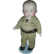 SALE Effanbee Bisque Skippy Army Doll