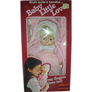 Vintage NRFB Baby Little Love Puppet Doll by Animal Fair