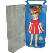 Vintage Deluxe Reading Doll Penny Brite with Original Display case