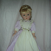 SALE Vintage Hard Plastic Madame Alexander Meg Doll from Little Women