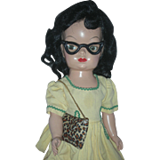 Vintage 1953 Terri Lee Mary Jane Doll Hard Plastic Walker