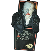 Vintage Phantom of The Opera Music Box By Enesco Mini Jack in the Box Plays ...