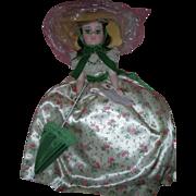 Madame Alexander Portrait Scarlett O'Hara Doll GWTW 21 Inch #2255 Picnic Dress Mint in ...