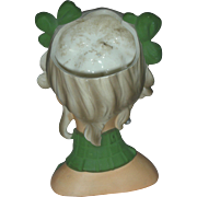SOLD Rare Relpo Vintage Teenage Lady Head Vase Headvase