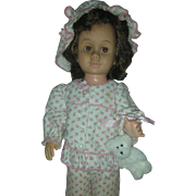 Vintage Mattel Chatty Cathy doll Brunette with Brown Eyes